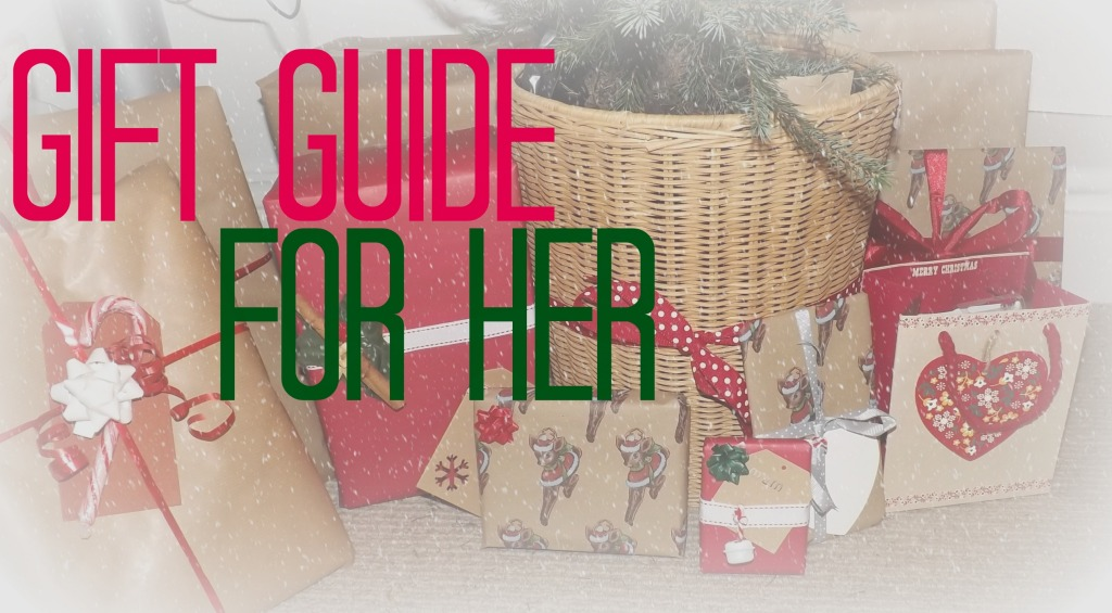 gift guide for her cover