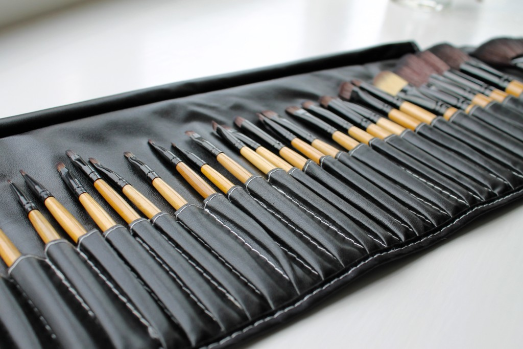 Sammy Dress make up brush roll
