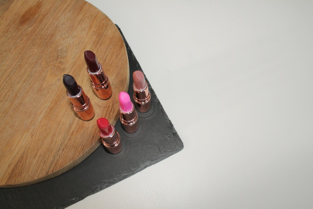 Make-Up Revolution Rose Lipstick Review 10