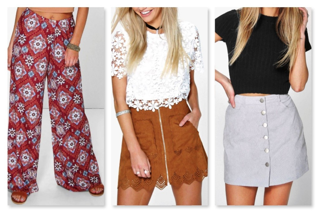 BooHoo Spring Wishlist Bottoms