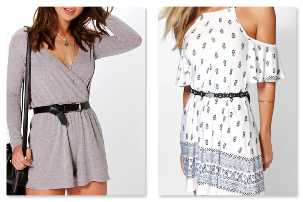 BooHoo Spring Wishlist Playsuit