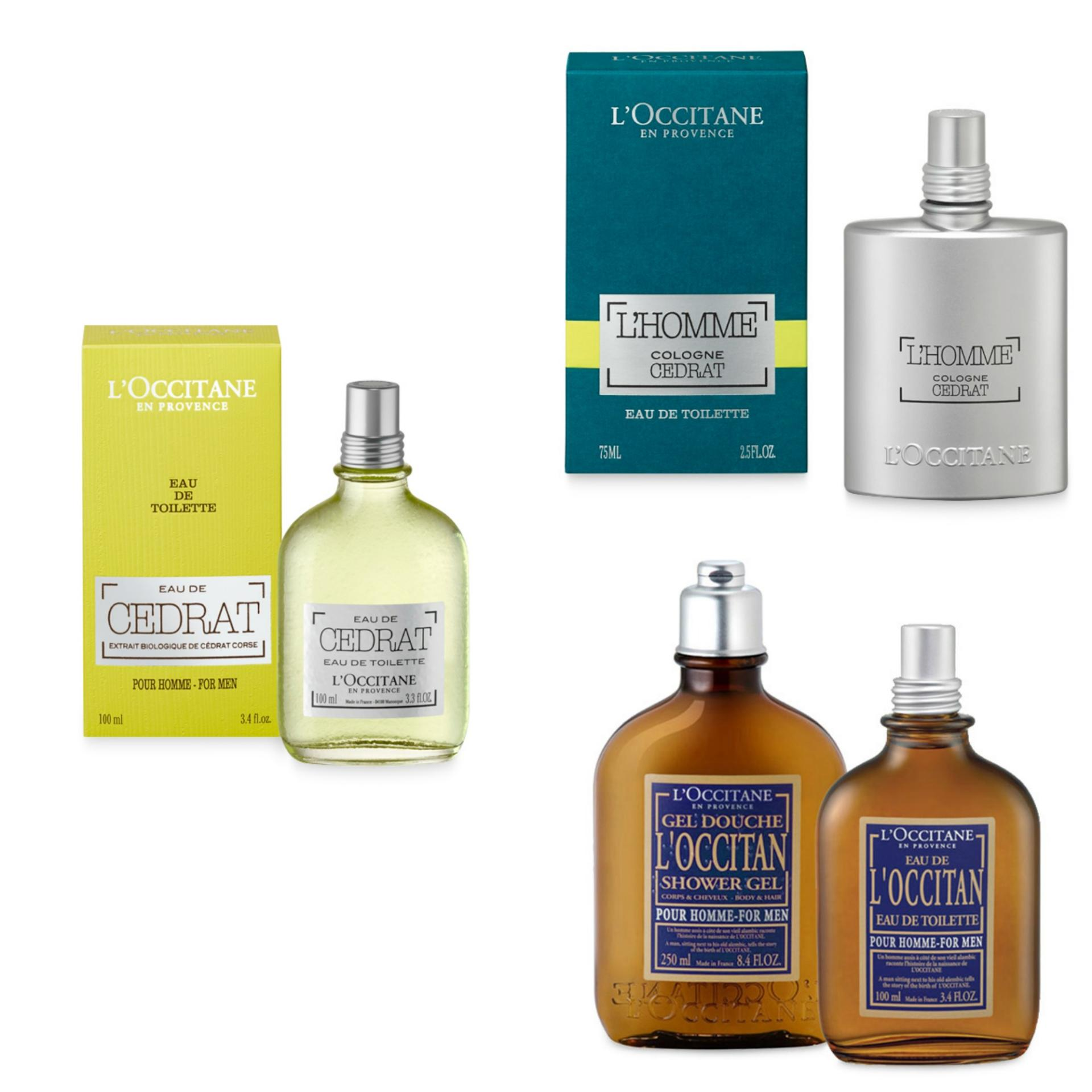 L'Occitane Gift Guide for Men