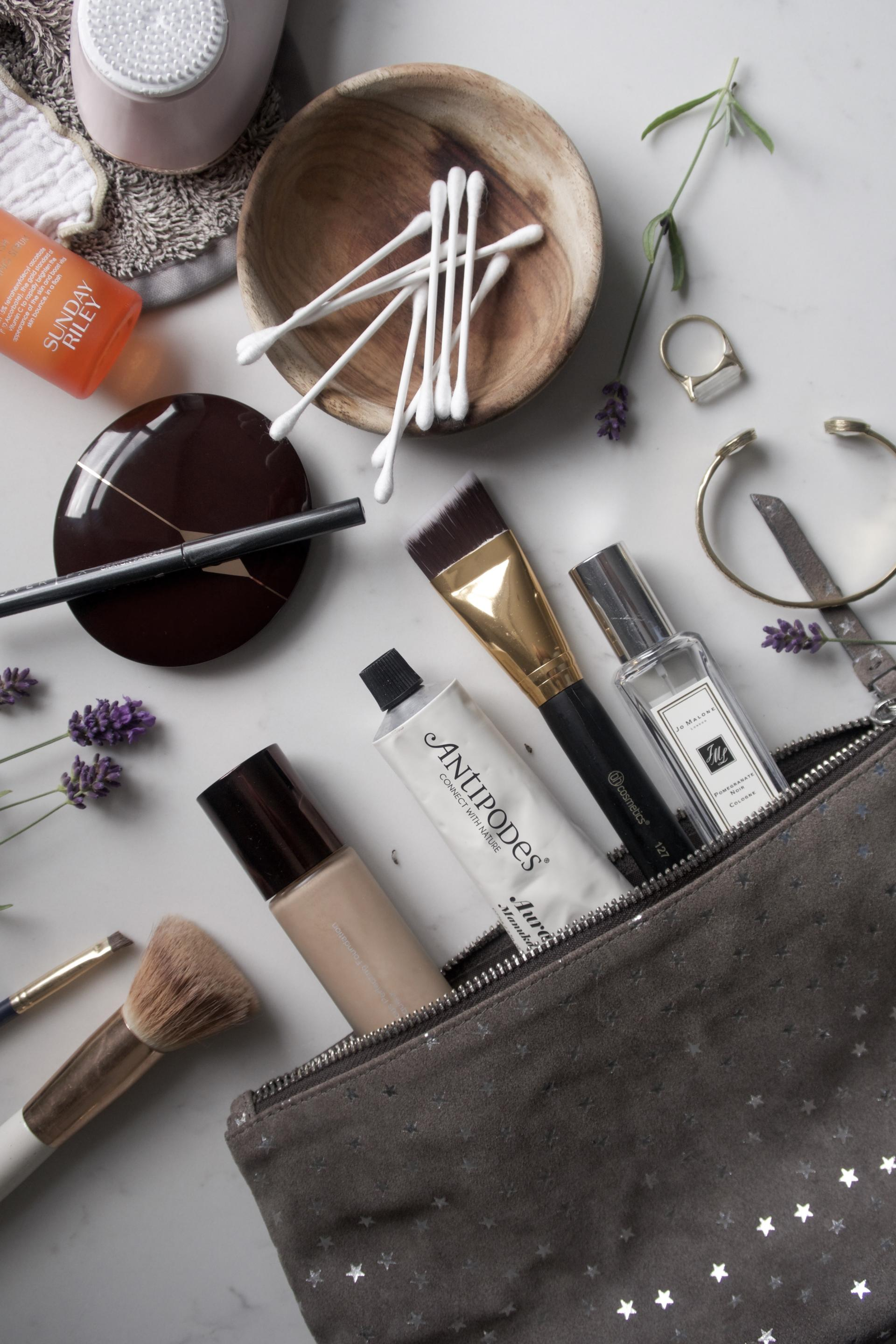 A Summer Week Away  Beauty Bag